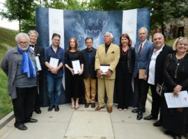 Mikhail Baryshnikov, Isabelle Huppert, Peter Sellars, Hideki Noda, Ioan Holender și Wajdi Mouawad sunt cei șase artiști cu care s-a îmbogățit aleea culturală / foto: Sebastian Marcovici