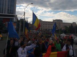 Protest împotriva Guvernului: 6.000 de sibieni în stradă!