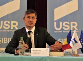 USR: PSD Sibiu dovedește că nu este decât o portavoce a intereselor meschine și nocive ale infractorului Liviu Dragnea