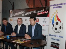 Sibiul găzduiește pentru a treia oară Cupa României la Minifotbal