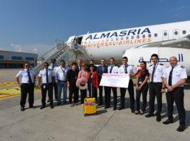 """Aeroportul Internațional """"Avram Iancu"""" Cluj lansează zborurile către Hurghada, Egipt, operate de compania aeriană AlMasria Universal Airlines"""