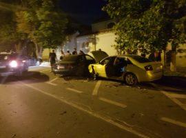 Accident grav în centrul Sibiului | FOTO