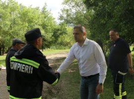Ministrul Trif, în localitățile sibiene afectate de inundații