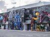 Sala Transilvania, pictată în premieră la SISAF. Lucrare de 386 de metri pe peretele din spatele sălii!