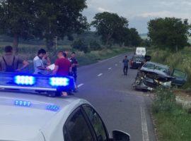 Doi tineri implicați într-un accident grav la Daia!