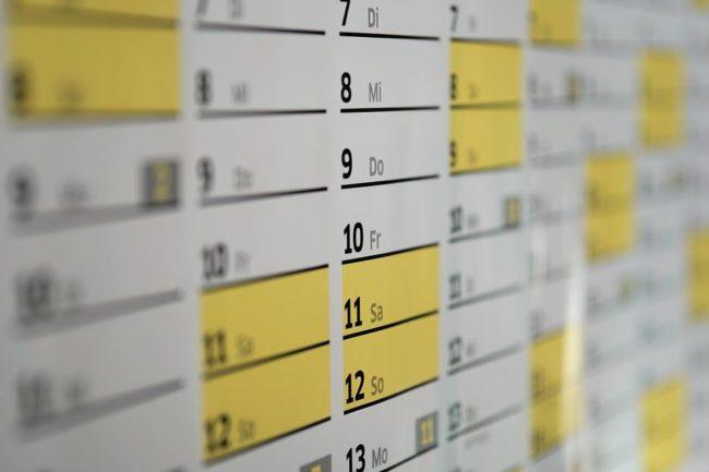 Calendar | 9 februarie