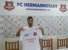 Al șaptelea jucător transferat de FC Hermannstadt în această vară