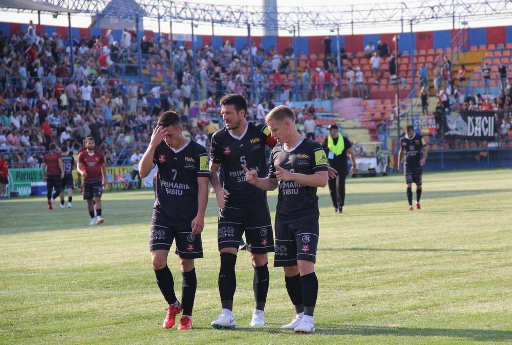 FC Hermannstadt, învinsă de Viitorul lui Hagi