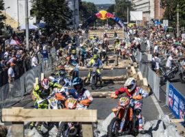 Red Bull Romaniacs in Sibiu, Romania on July 12th, 2016.