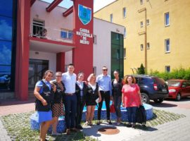 Studenți din București, în vizită la Garda de Mediu Sibiu