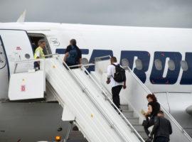 TAROM va anula două zboruri de la Sibiu