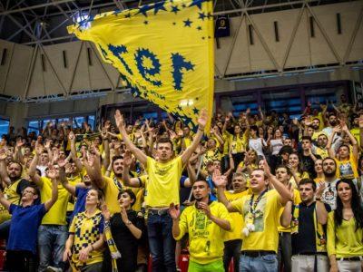 Atmosfera creată în Sala Transilvania, mai ales la meciurile de baschet ale echipei BC CSU Sibiu, este una extraordinară
