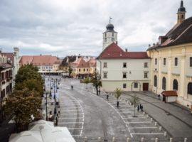 Piața Mică se închide pentru Zilele Culturii Romilor