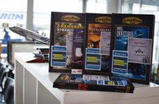 TAROM susține proiectul bibliotecii publice de la Aeroportul Internațional Sibiu