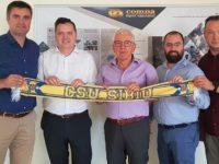 Compa, alături de BC CSU Sibiu