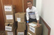 Semnăturile #FărăPenali din Sibiu au ajuns la Parlament. USR s-a împiedicat la Cîrțișoara