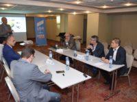Dezbaterea USR Sibiu pentru proiectul noului spital, boicotată de oamenii de decizie | VIDEO