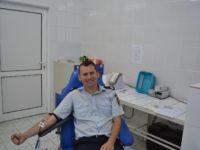 Pompierii sibienii au donat sânge