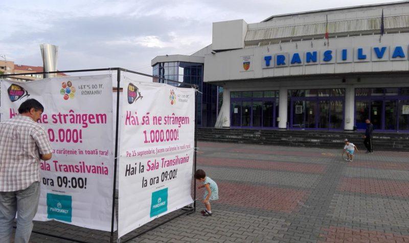 Voluntarii se vor întâlni mâine dimineață, la ora 9.00, în fața Sălii Transilvania