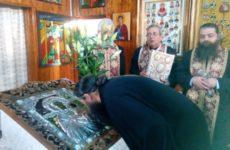 Icoana făcătoare de minuni de la Sihăstria Putnei a fost adusă la biserica Spitalului TBC din Sibiu