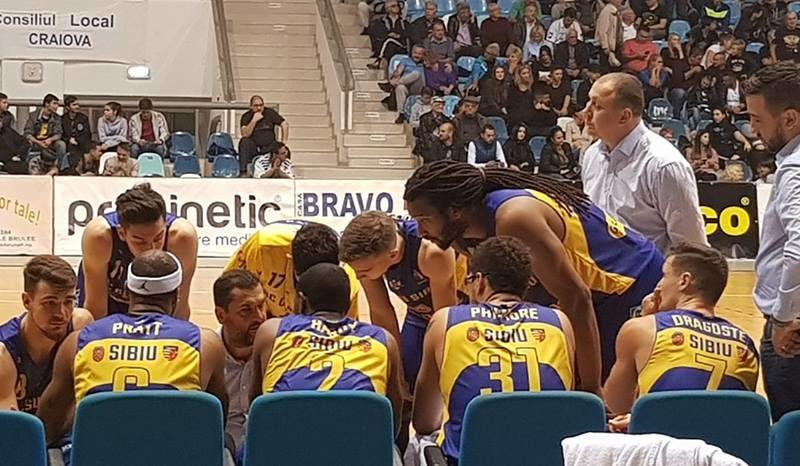 Prima înfrângere a sezonului pentru baschetbaliștii sibieni