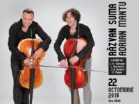 """Răzvan Suma și Adrian Mantu în concert la Biblioteca ASTRA: """"Vă plaCello?"""""""