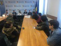 Consiliul Județean Sibiu, pichetat de angajații din asistența socială