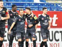 FC Hermannstadt, a treia victorie consecutivă într-un meci oficial
