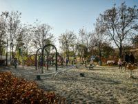 Sibiul are un nou parc pe bulevardul Corneliu Coposu | FOTO