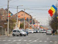 5.000 de steaguri tricolore, arborate de Ziua Națională în Sibiu