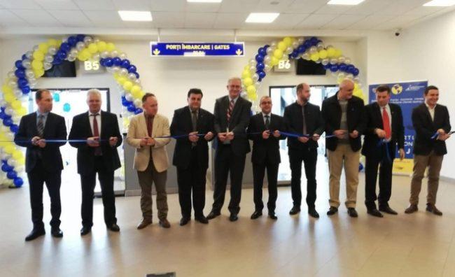 """Aeroportul Cluj a investit 3 milioane de euro pentru două noi porţi de îmbarcare. David Ciceo: """"Suntem pregătiţi pentru intrarea în Schengen"""""""