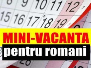 Zile libere 2019 | Încă o minivacanţă pentru români la sfârșitul lunii ianuarie