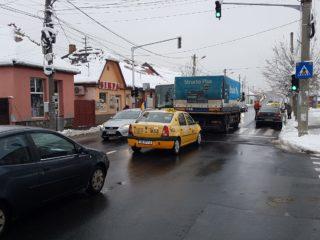 Trafic rutier în condiții de iarnă
