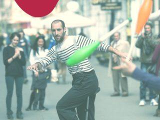 Atelier de circ! În premieră la Teatrul Gong din Sibiu, copiii deprind tainele circului contemporan