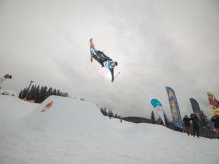Cascadorii pe zăpadă
