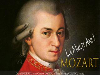 """Mozart, sărbătorit la Sibiu printr-un concert al Stagiunii Camerale """"Florescu-Fernandez & Friends"""""""