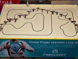 30 de echipe înscrise la prima etapă a concursului de roboți mobili susținut de Marquardt
