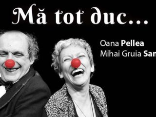 """Oana Pellea și Mihai Gruia Sandu, pe scena Centrului Cultural """"Ion Besoiu"""""""
