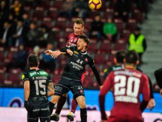 FC Hermannstadt a terminat la egalitate pe terenul campioanei CFR Cluj