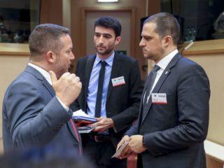 Bogdan Trif a vorbit despre Sibiu la Bruxelles
