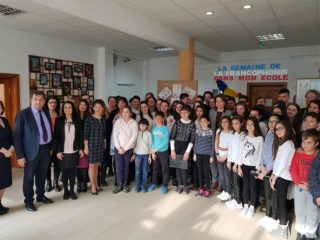 Franceza câştigă teren în școlile sibiene