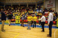 """Val de simpatie pentru Costică, robotul creat de elevii de la """"Goga"""""""