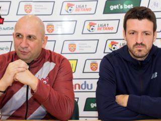 Antrenorul Vasile Miriuță și căpitanul Răzvan Dâlbea spun că abia acum începe adevăratul campionat