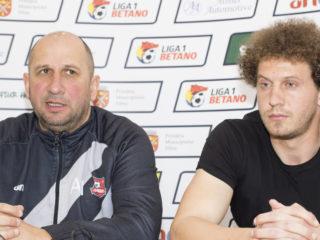 Miriuță și Popovici speră să obțină victoria cu Mediașul, sâmbătă, pe arena din Pitești