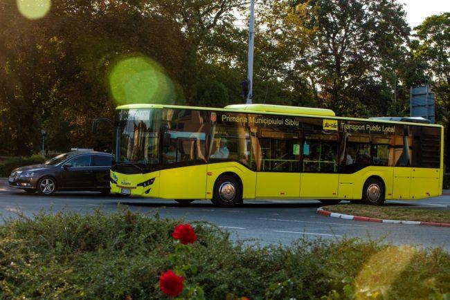 Primele 7 trasee de transport public pentru elevi în Sibiu