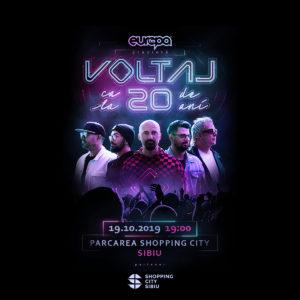 Concert aniversar Voltaj la Shopping City Sibiu