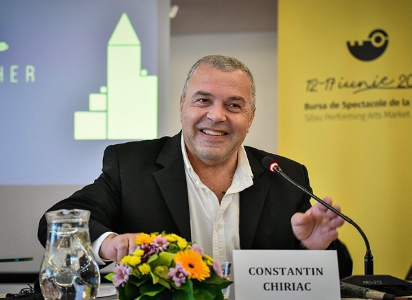 """Constantin Chiriac: """"Încercăm să construim noul teatru"""""""