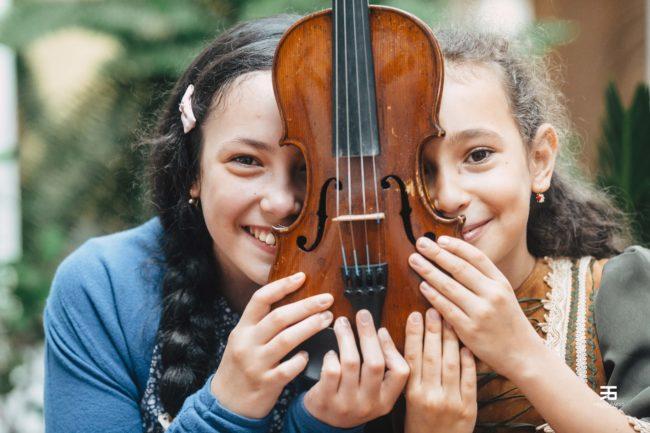 Concert de Crăciun susținut de două tinere talente