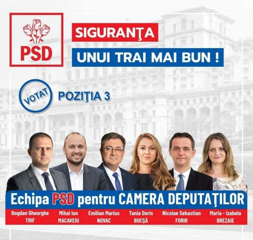 Echipa PSD Sibiu pentru Parlamentul României (P.E.)