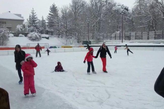 Distracție și relaxare, la patinoar